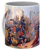 The French Legion Storming A Carlist Coffee Mug by English School