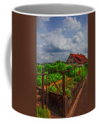 The Garden Gate Coffee Mug by Debra and Dave Vanderlaan