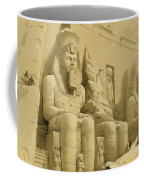 The Great Temple Of Abu Simbel Coffee Mug by David Roberts