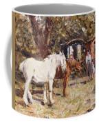 The Gypsy Encampment Coffee Mug by Harry Fidler