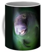 The Happy Manatee Coffee Mug by Karen Wiles