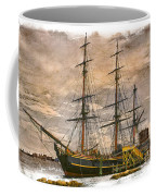 The Hms Bounty Coffee Mug by Debra and Dave Vanderlaan