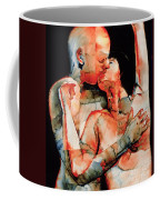 The Kiss Coffee Mug by Graham Dean