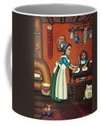 The Lesson Or Making Tortillas Coffee Mug by Victoria De Almeida