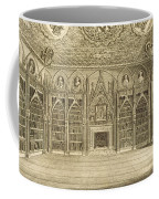 The Library, Engraved By Godfrey Coffee Mug by English School