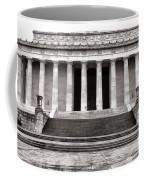 The Lincoln Memorial Coffee Mug by Olivier Le Queinec