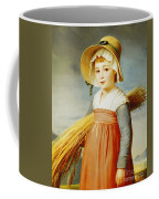 The Little Gleaner Coffee Mug by Christophe Thomas Degeorge