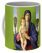 The Madonna Of The Trees Coffee Mug by Giovanni Bellini