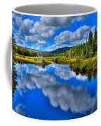 The Moose River From The Green Bridge Coffee Mug by David Patterson