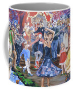 The Music Never Stopped Coffee Mug by Bryan Bustard