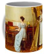 The Music Room Coffee Mug by George Goodwin Kilburne