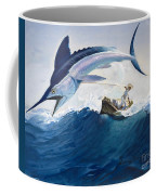The Old Man And The Sea Coffee Mug by Harry G Seabright