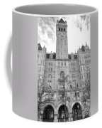 The Old Post Office  Coffee Mug by Olivier Le Queinec