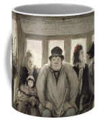 The Omnibus Coffee Mug by Honore Daumier