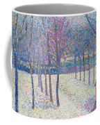 The Orchard Under The Snow  Coffee Mug by Hippolyte Petitjean