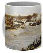 The Oxford And Cambridge Boat Race Coffee Mug by James Macbeth