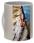 The Plunge   Coffee Mug by Karen Wiles