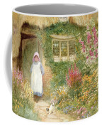 The Puppy Coffee Mug by Arthur Claude Strachan
