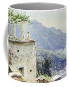 The Ravello Coastline Coffee Mug by Peder Monsted
