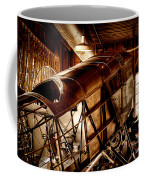 The Red Barn Of The Boeing Company II Coffee Mug by David Patterson