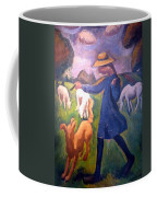 The Shepherdess Coffee Mug by Roger de La Fresnaye