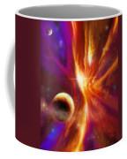 The Spirit Realm Of The Saphire Nebula Coffee Mug by James Christopher Hill