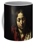 The Supper At Emmaus Coffee Mug by Michelangelo Merisi da Caravaggio
