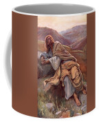 The Temptation Of Christ Coffee Mug by Harold Copping