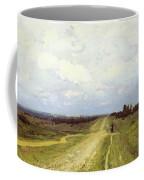 The Vladimirka Road Coffee Mug by Isaak Ilyich Levitan