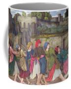 The Women Of Sorrento Coffee Mug by John Roddam Spencer Stanhope