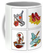 The Wonderful Wizard Of Oz Coffee Mug by Irina Sztukowski
