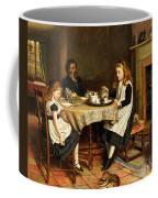 There Is No Fireside... Coffee Mug by George Goodwin Kilburne