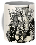 Three Kings Coffee Mug by Richard Hook