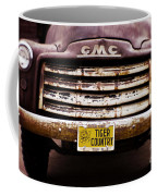 Tiger Country - Purple And Old Coffee Mug by Scott Pellegrin