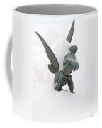 Tink In The Snow Coffee Mug by Susan Cliett