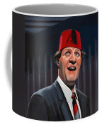 Tommy Cooper Coffee Mug by Paul Meijering