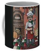 Tommys Italian Kitchen Coffee Mug by Victoria De Almeida