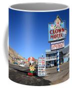 Tonopah Nevada - Clown Motel Coffee Mug by Frank Romeo