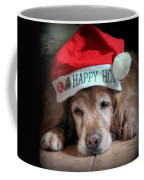 Too Much Eggnog Coffee Mug by Karen Wiles