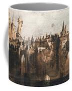Town With A Broken Bridge Coffee Mug by Victor Hugo