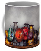 Train - A Collection Of Rail Road Lanterns  Coffee Mug by Mike Savad