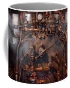 Train - Engine - Hot Under The Collar  Coffee Mug by Mike Savad