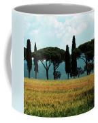 Tree Row In Tuscany Coffee Mug by Heiko Koehrer-Wagner
