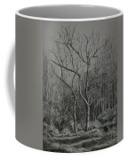 Trees Along The Greenway Coffee Mug by Janet Felts