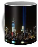 Tribute In Light From Bayonne Coffee Mug by Nick Zelinsky