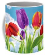 Tulip Garden Coffee Mug by Sarah Batalka