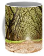 Tunnel In The Trees Coffee Mug by Scott Pellegrin