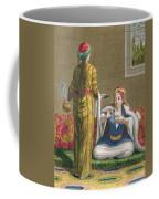 Turkish Girl, Having Coffee Coffee Mug by Jean-Baptiste Haussard