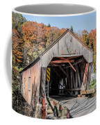 Union Village Covered Bridge Thetford Vermont Coffee Mug by Edward Fielding