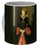 Unknown Lady From The Court Of King Coffee Mug by Hans Eworth or Ewoutsz